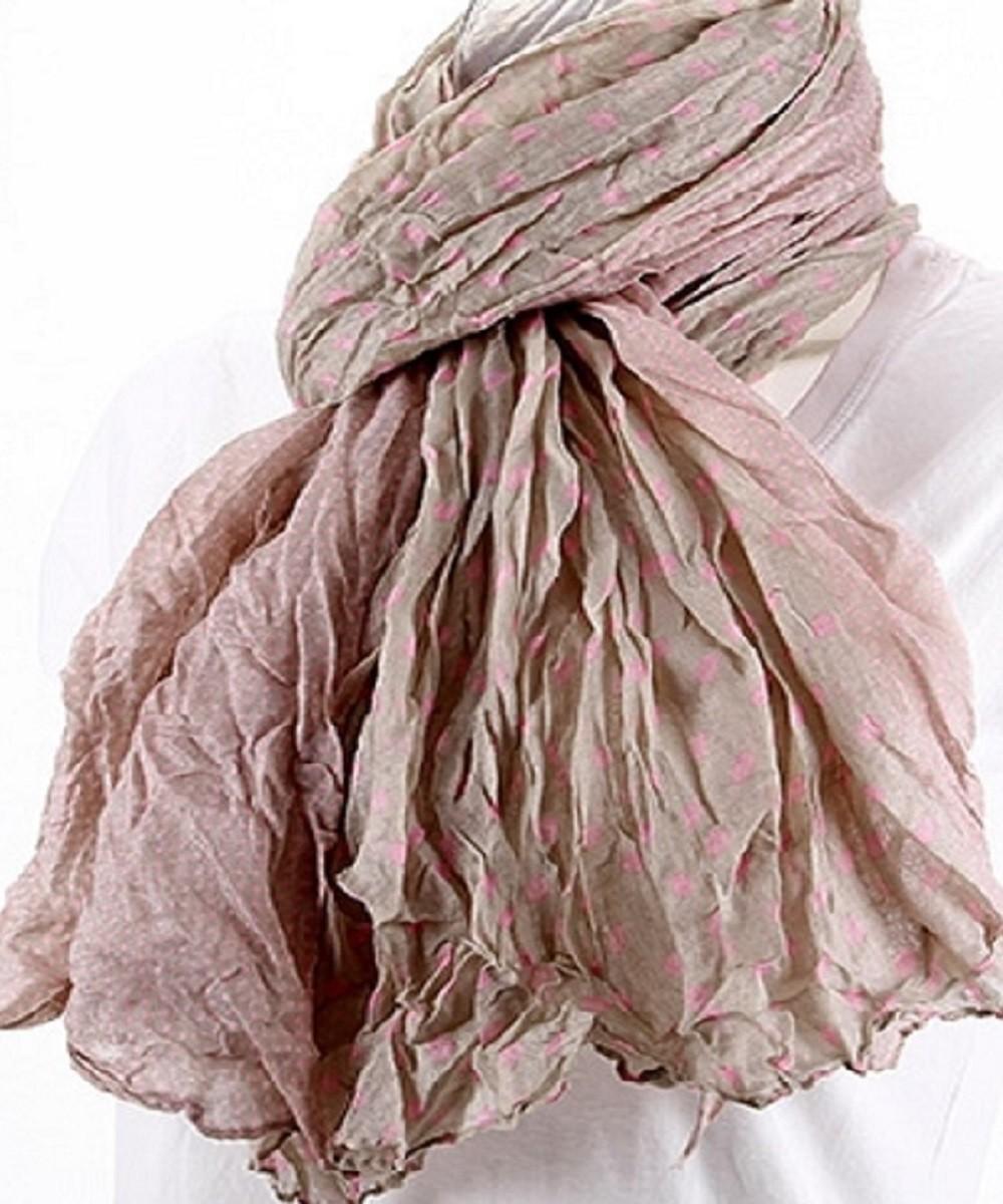 Foulard couleur taupe et rose - Couleur taupe rose ...