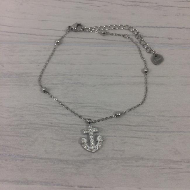 Bracelet acier et strass