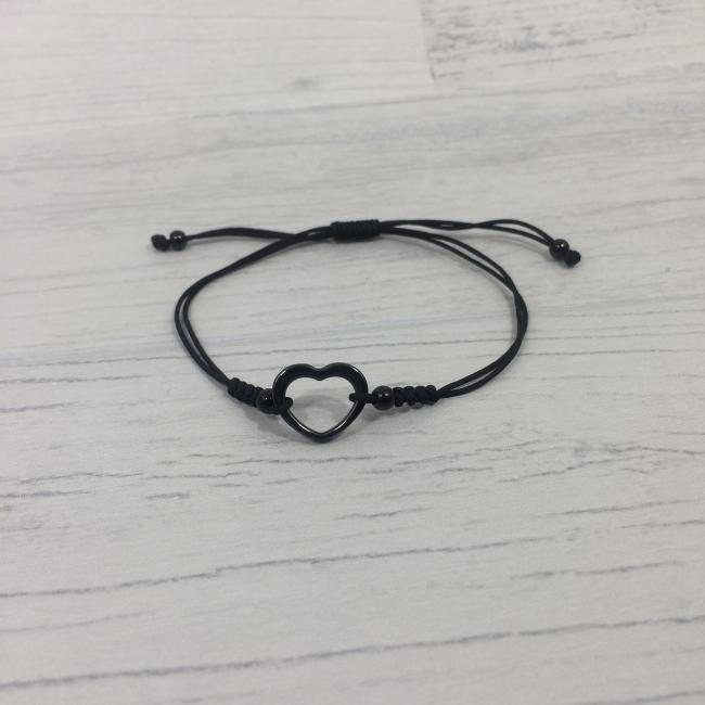 Bracelet cœur en céramique