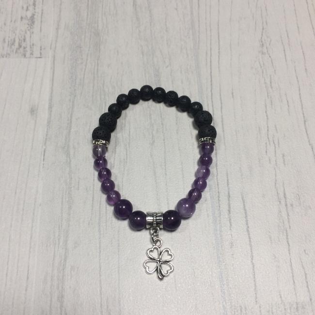 """Bracelet en pierres naturelles """"apaisement"""""""