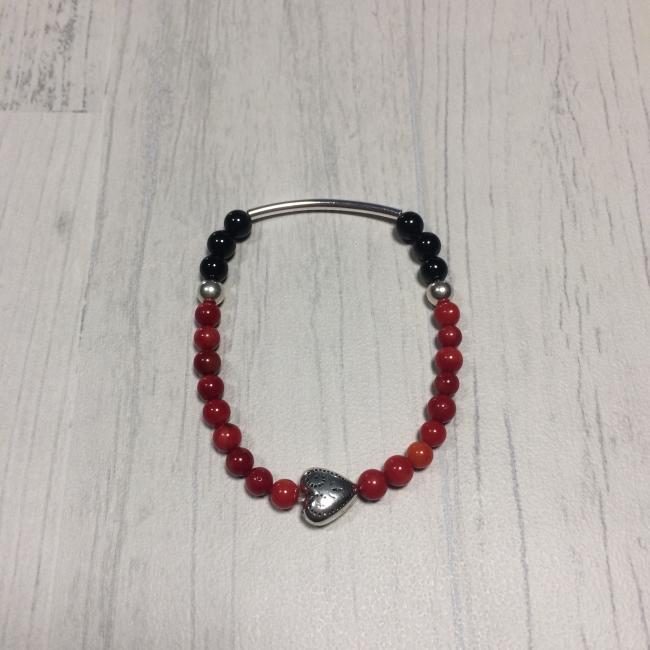 "Bracelet en pierres naturelles ""joie"""