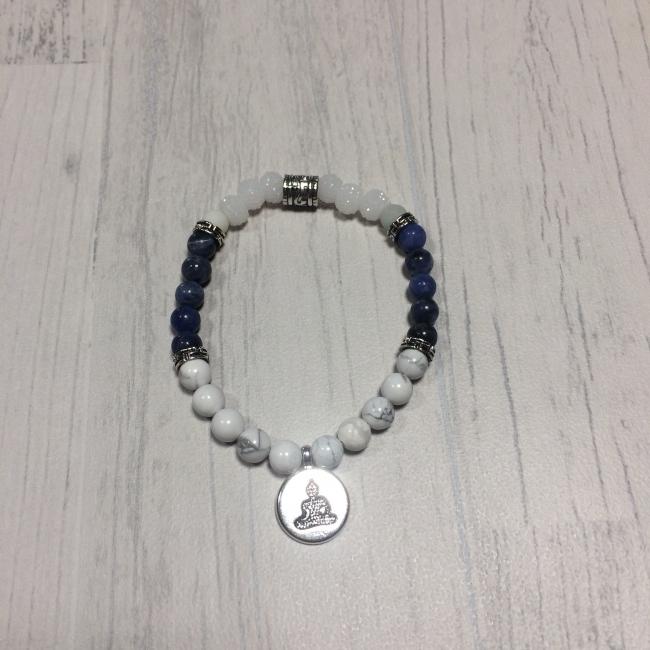 """Bracelet en pierres naturelles """"optimisme"""""""