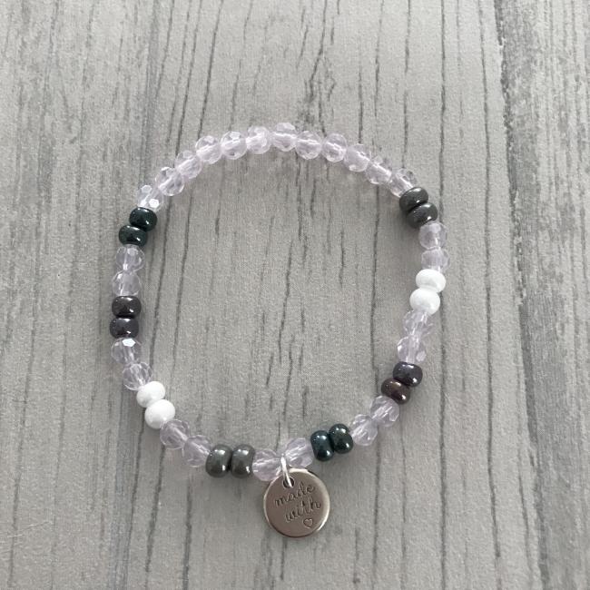 Bracelet cristal rose