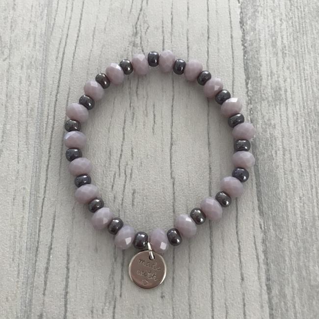 Bracelet parme et violet