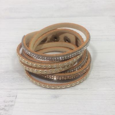 Bracelet strass camel