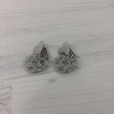 Boucles d'oreilles clips coeur