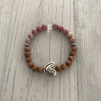 """Bracelet en pierres naturelles """"balance"""""""