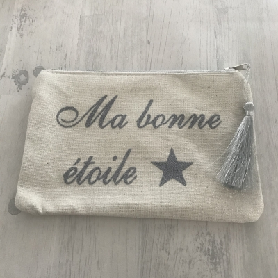 "Pochette ""ma bonne étoile"""