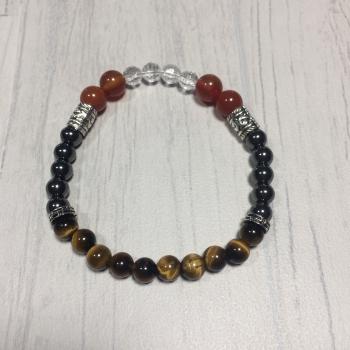 """Bracelet en pierres naturelles """"confiance"""""""