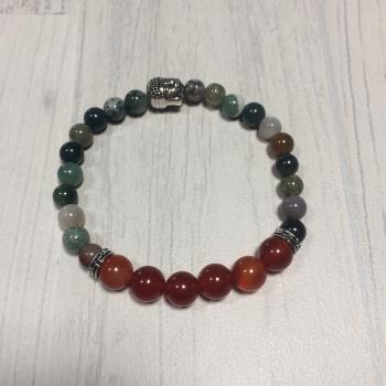 """Bracelet en pierres naturelles """"équilibre"""""""